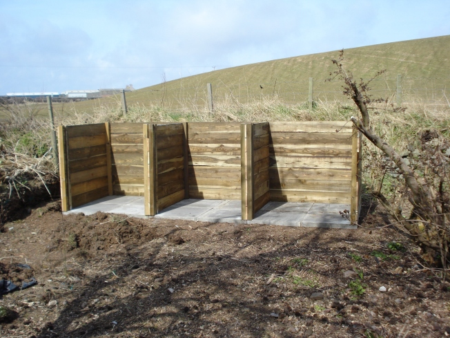 New Compost bins