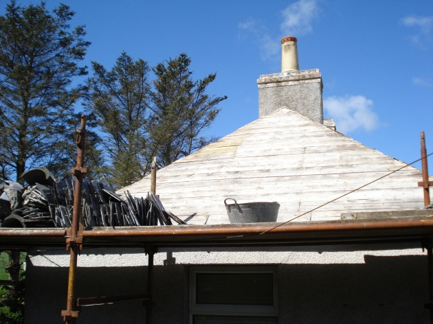 Cottage roof a